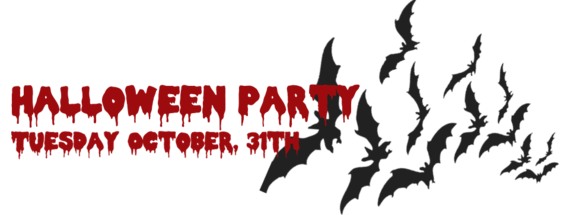 Halloween Party Banner 2017