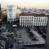 Plaza de Santo Domingo en invierno
