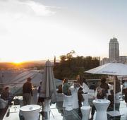 Sunset Lookers vista Plaza España